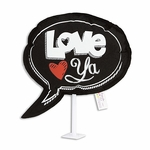 "6"" Love You Plush Pick"