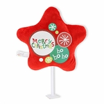 "6"" Merry Christmas Plush Pick"