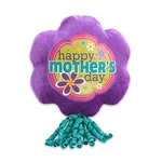 "6"" Mother's Day Purple Plush Pick w/Corker Bow"