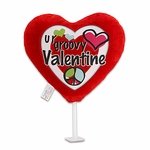"6"" Peace Valentine Plush Pick"