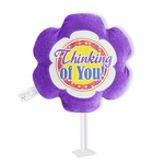 "6"" Thinking of You Plush Pick"
