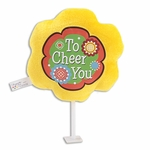 "6"" To Cheer You Plush Pick"