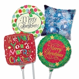 """9"""" Christmas Air-Filled Balloons"""