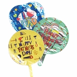 """9"""" Father's Day Flat Balloons"""