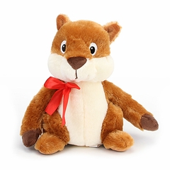 "9"" Sal Plush Squirrel"