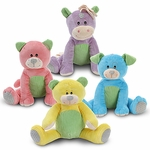 "9"" Sitting Corduroy Plush Assortment"
