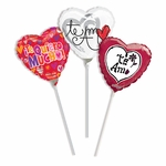 "9"" Spanish Valentine & Love Air-Filled Balloons"