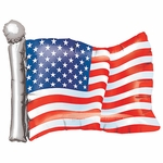 American Flag Helium Shape Balloon