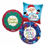 "Assorted Christmas 18"" Balloons"