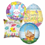 "Assorted Easter 18"" Balloons"