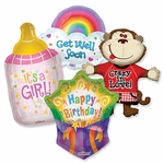 Assorted Everyday Shape Balloons