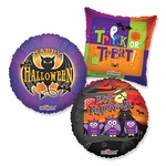 "Assorted Halloween 18"" Balloons"