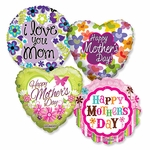 "Assorted Mother's Day 18"" Balloons"