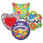 "Assorted Spanish 18"" Balloons"