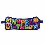 Blue Birthday Puffy Banner