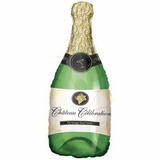 Champagne Bottle Celebration Shape Balloon