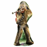 Star Wars Chewbacca Shape Balloon