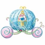 Cinderella Carriage Shape Balloon