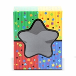 Colorblock Confetti Rectangle Window Box