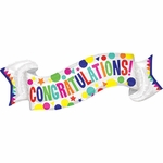 Congratulatons Banner Shape Balloon