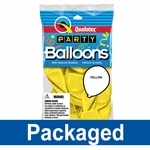 Consumer Packaged Latex Balloons
