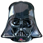 Star Wars Darth Vader Black Helmet Shape Balloon