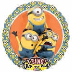 Despicable Me Group Sing-A-Tune Balloon