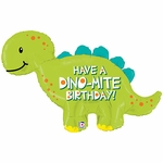 Dino-Mite Birthday Shape Balloon