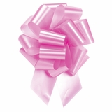 Extra Large Light Pink Pull Bow