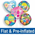 Flat & Pre-Inflated Foil Balloons