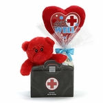 Get Well Doctor Plush Pick Gift