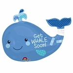 Get Whale Soon Shape Balloon