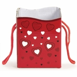 Gift Bag Candy Box: Scribble Hearts