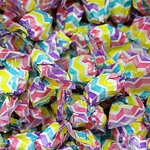 Grape Hard Candy in Chevron Wrapper