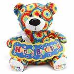 "Happy Birthday 12"" Bear"