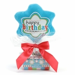 Happy Birthday Plush Pick Candy Tray Gift