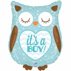 It's a Boy Owl Shape Balloon