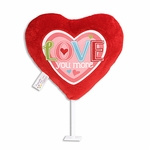 "5.5"" Love You More Plush Pick"