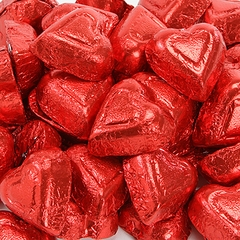 Milk Chocolate Flavored Hearts