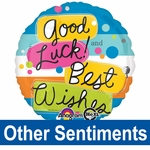 Other Sentiments Helium Savers Balloons