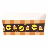 Paper Candy Tray: Halloween Candy Corn
