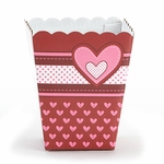 Candy Treat Box (Shallow): Patchwork Heart