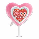 "6"" Who Loves You Plush Pick"