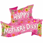 PR Happy Mother's Day Banner Shape Balloon