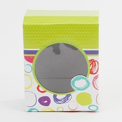 Scribble Circles-Shallow Candy Treat Box