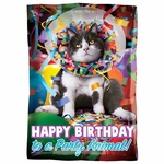 Standard Avanti Happy Birthday Animal Balloon