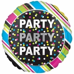 Standard Party, Party, Party Helium Saver Balloon