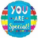 "17"" You Are Special Fun Type Helium Saver Balloon"