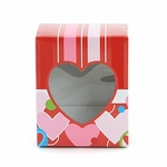 Stripes & Hearts Medium Rectangle Window Box