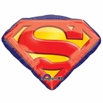 Superman Emblem Shape Balloon